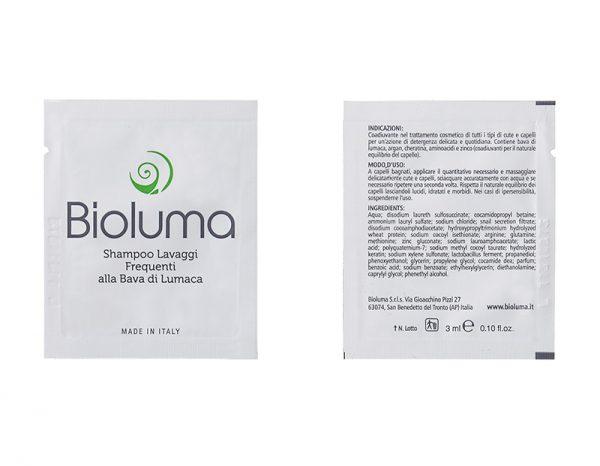 campioni omaggio bioluma shampoo lavaggi frequenti bava di lumaca