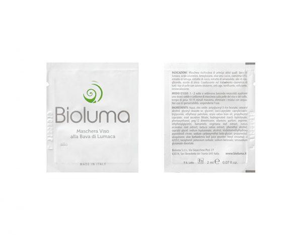 bioluma campione omaggio maschera viso